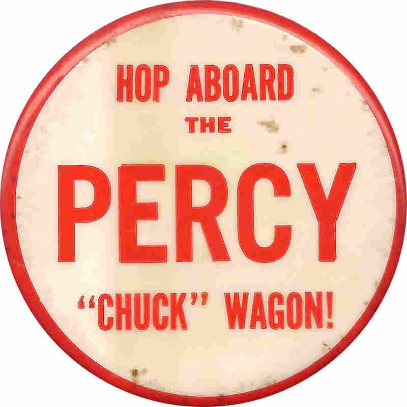 Illinois' Charles Percy was a Republican rising star following his 1966 election to the Senate.