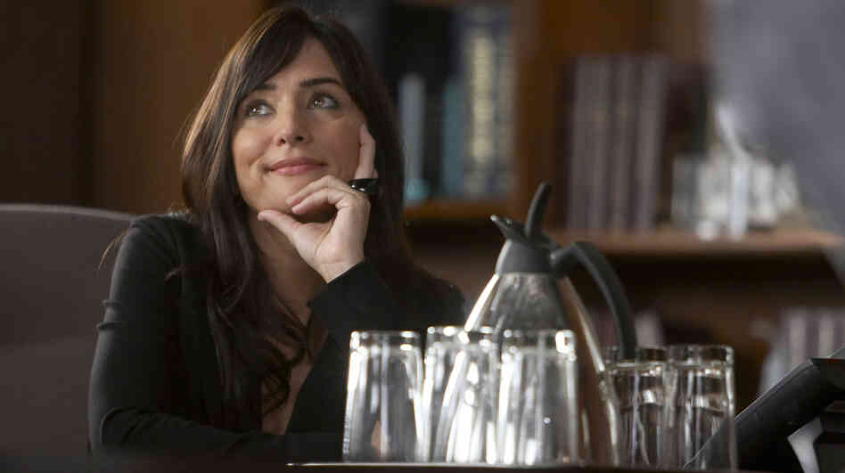 "Pamela Adlon plays Marcy Runkle on Showtime's Californication. This season, her character is going through what she describes as a ""sexual renaissance."""