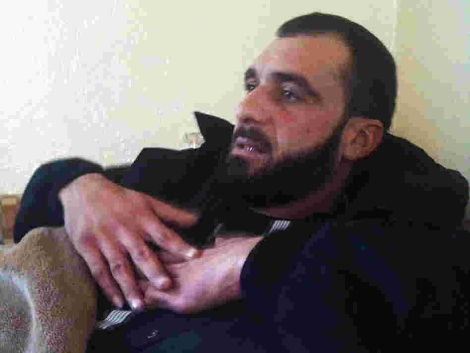 Syrian security forces shot Rabih al-Zain, a 30-year-old Syrian, while he was trying to help wounded civilians in Homs, Syria. Doctors and ordinary Syrians and Lebanese are helping treat the wounded, putting their own safety at risk.