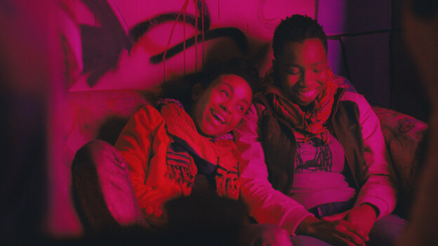 First Love? In Bina (Aasha Davis, left), Alike (Adepero Oduye) finds a focus for the feelings she'd been coming to terms with privately.