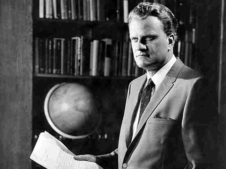 Rev. Billy Graham poses for a portrait in 1968.