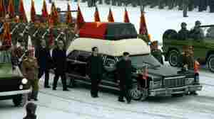 In  North Korea, A Dramatic Farewell To Kim Jong Il