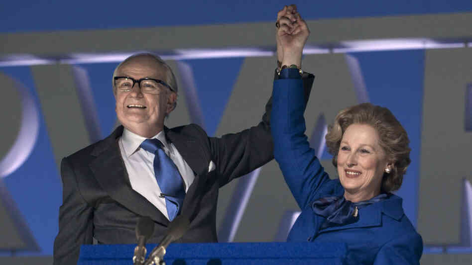 Wills To Power: Meryl Streep plays Margaret Thatcher — and Jim Broadbent her supportive husband, Denis — in The Iron Lady.