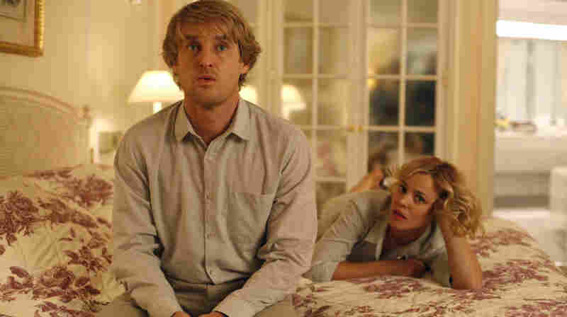 'Midnight In Paris': Owen Wilson, playing the time-traveling hero Gil, wants to write novels instead of movies, much to the horror of his fiancee Inez, played by Rachel McAdams.