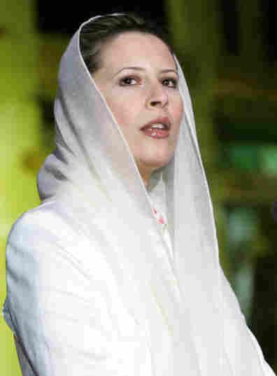 Aisha Gadhafi in 2006.