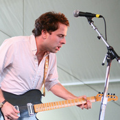 "Dawes, seen here performing at the Newport Folk Festival, had one of The Current's most popular songs of the year in ""A Little Bit of Everything."""