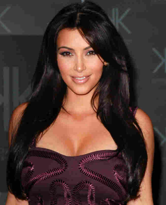 She'll be paid well to party: Kim Kardashian.
