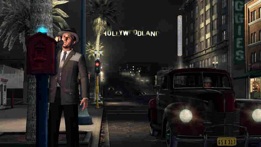 A screenshot from L.A. Noire.