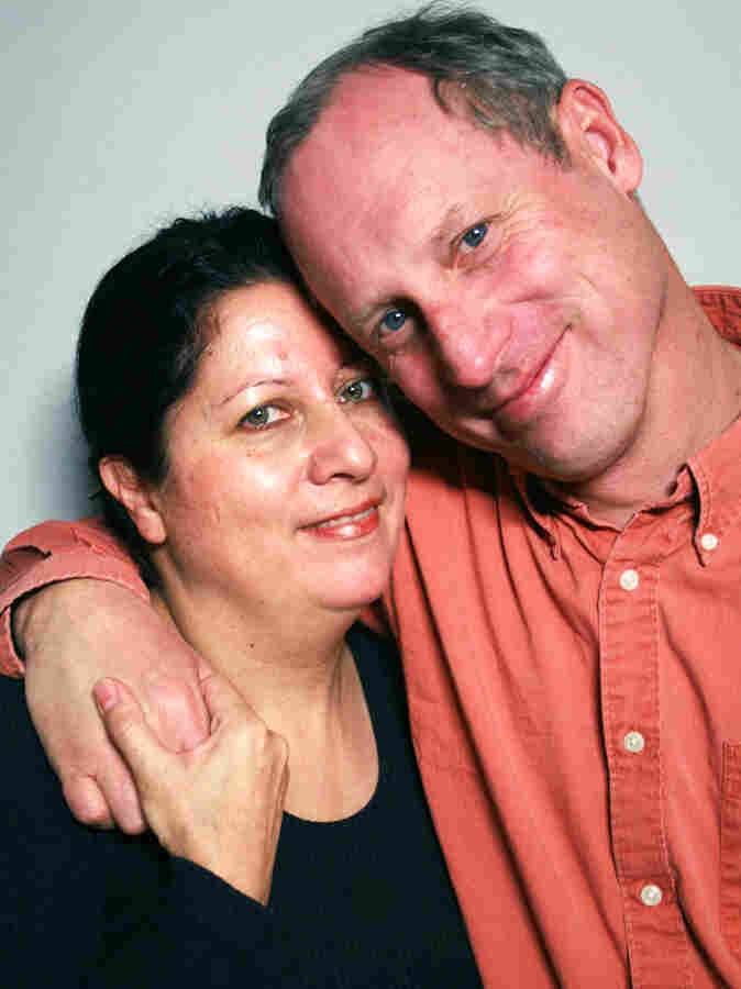 Isabel Sobozinsky-Wall and her husband, Scott Wall, visited StoryCorps in San Francisco.