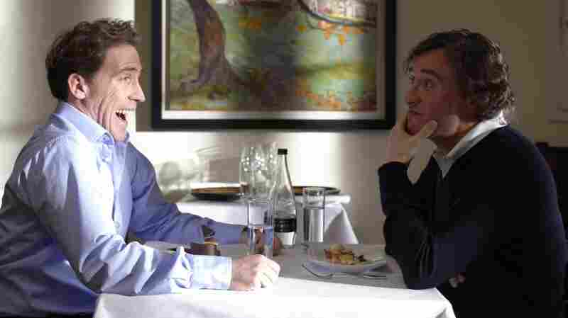 'The Trip': Steve Coogan (right) and his friend Rob Brydon tour Northern England and engage in a battle of competing impressions in the road trip comedy.