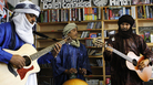 Tinariwen plays a Tiny Desk Concert at the NPR Music offices on November 15, 2011.