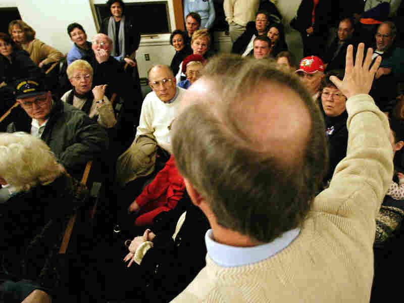 On Jan. 3, Iowans will caucus at 1,774 precincts across the state, in the first contest of the 2012 presidential nominating process. Above, Iowans caucus in 2004 at St. John's United Methodist Church in Des Moines, Precinct 87.