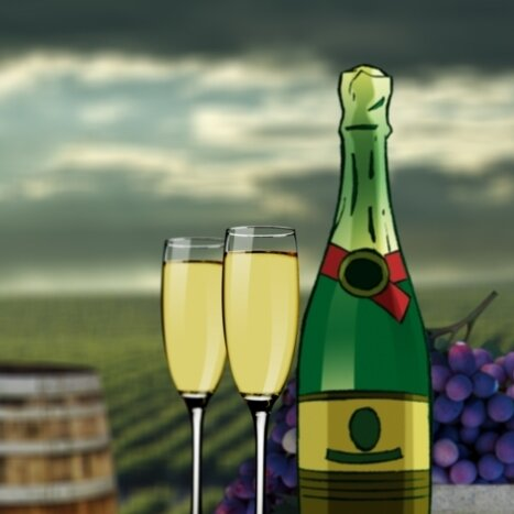 Does Champagne Actually Get You Drunk Faster? : The Salt : NPR