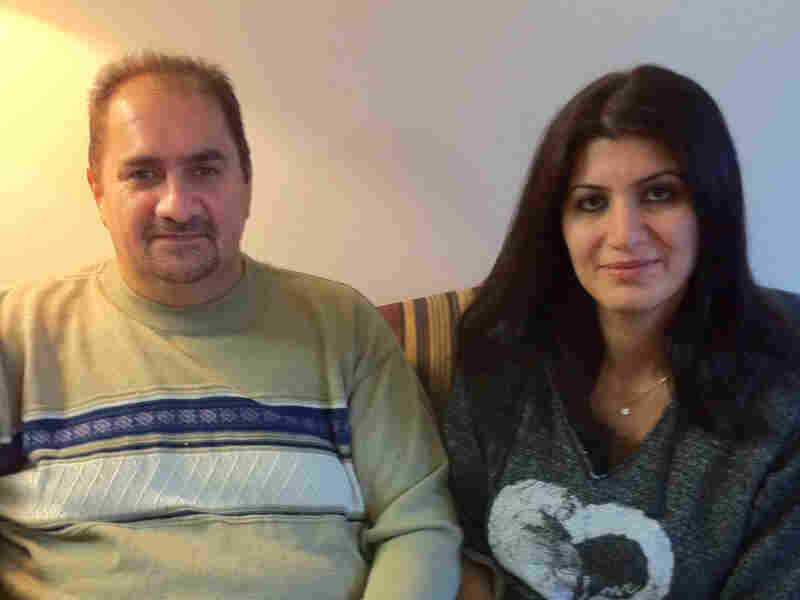 Hesham Abdul Ghani and his wife, Oras Touma, came to Michigan to escape religious persecution.