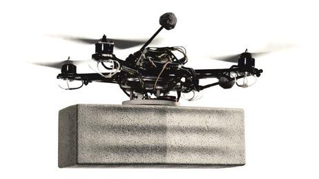 Flying robot.
