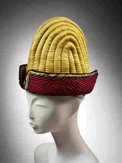 Quilted cap, 1800-1900.