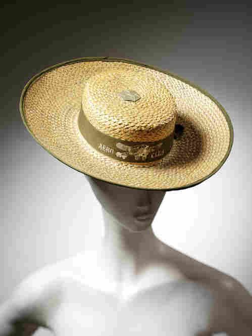 Aero Club hat, circa 1912.