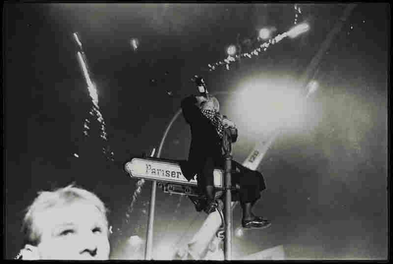 Bradenburg Gate #1, Berlin, Germany, New Year's Eve, 1989