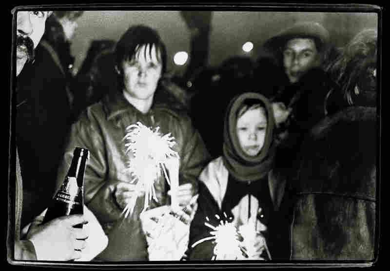 Bradenburg Gate #3, Berlin, Germany, New Year's Eve, 1989