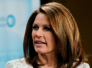 Rep. Michele Bachmann (R-Minn.) in Pella, Iowa, on Nov. 1, 2011.