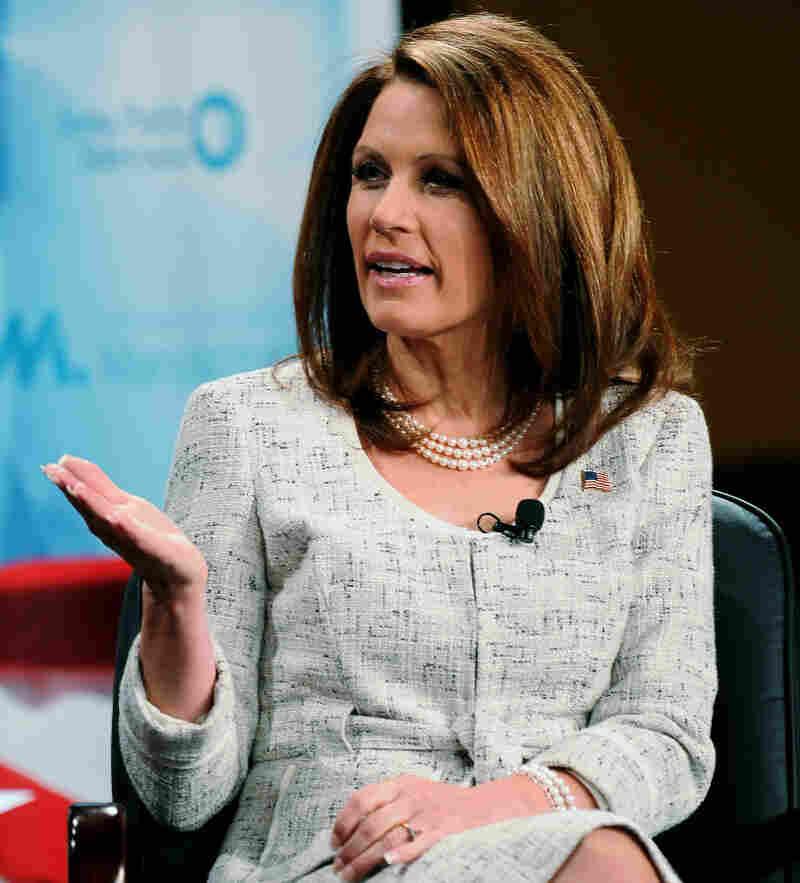 Rep. Michele Bachmann (R-Minn.) in Pella, Iowa, on Nov. 1, 2011.