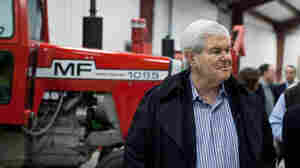 In Final Pitch To Iowa Voters, Gingrich Stresses Experience