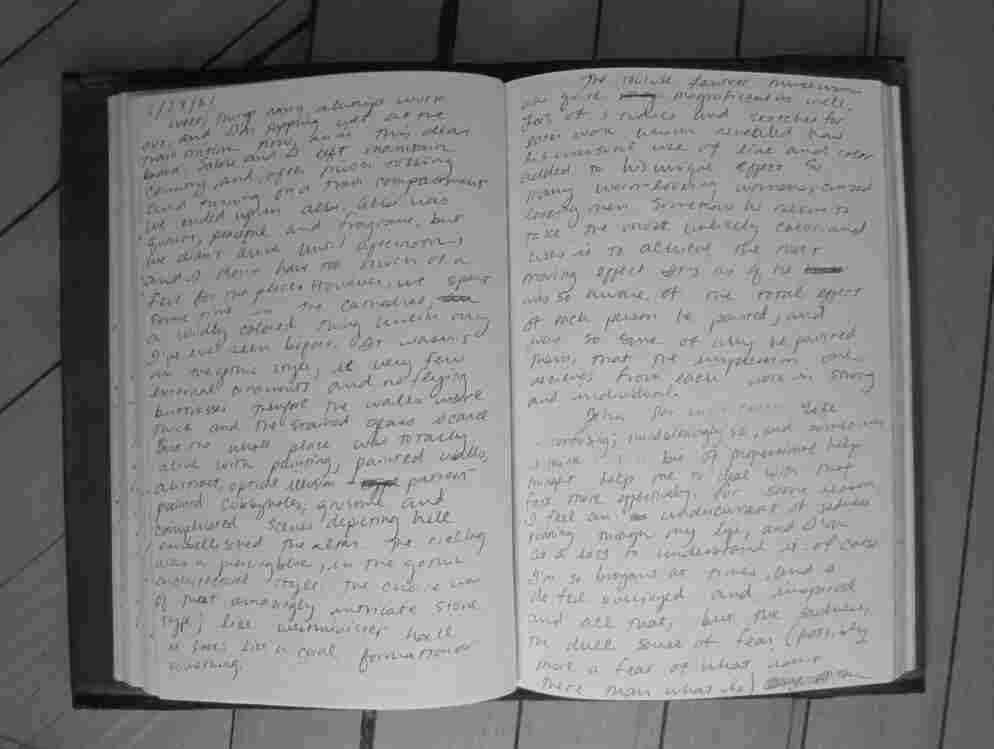 detail from Egan's Journal