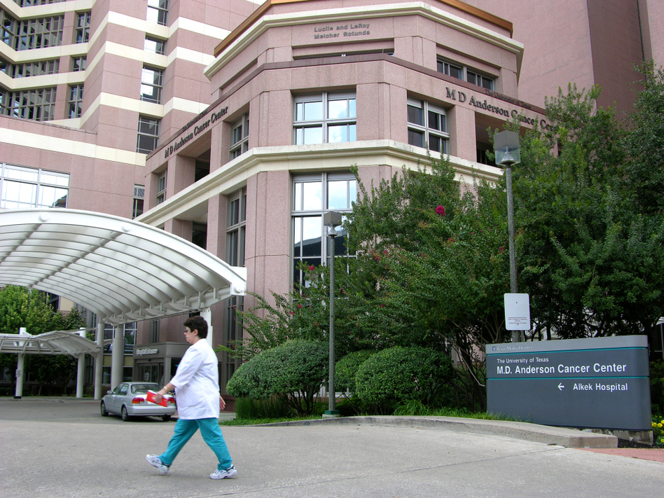 MD Anderson Cancer Center, which is part of the University of Texas, has sought to build a higher profile nationally as it seeks new patients.