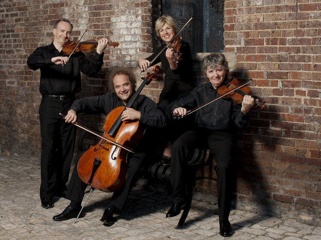 "The Takacs Quartet, continuing to conquer the music of ""Papa"" Haydn."