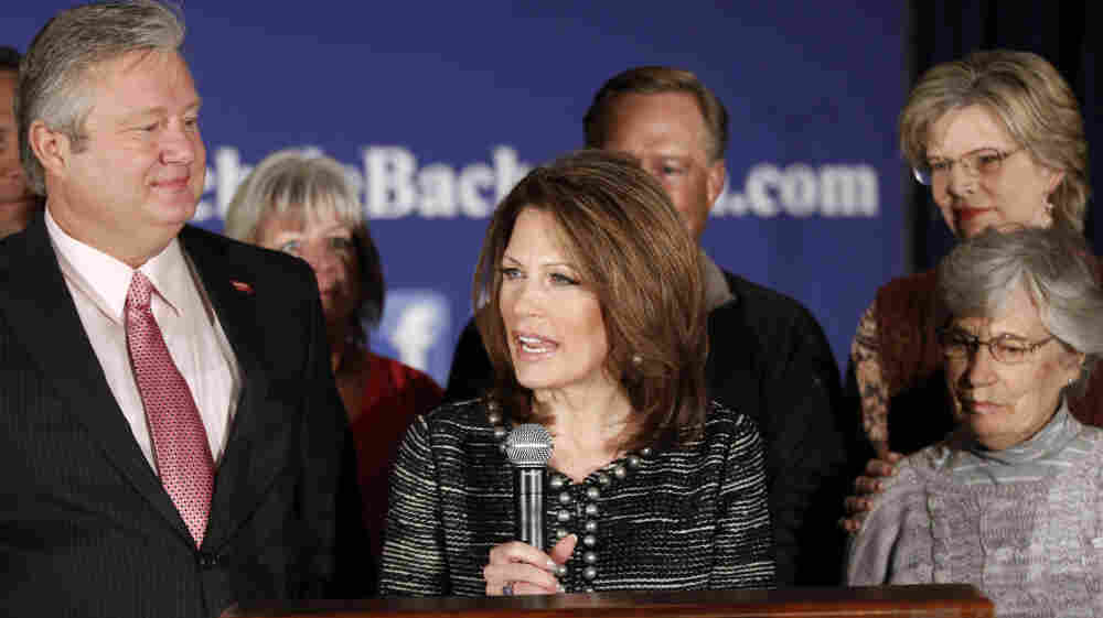 After Bruising Loss In Iowa, Bachmann Bows Out