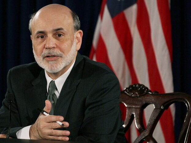 Sit down. Fed Chairman Ben Bernanke wants to have a heart to heart chat about the future.