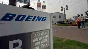 Boeing plans to close its Wichita plant, where in 2005 members of the Machinists Union voted to go on strike, seen in this file photo.