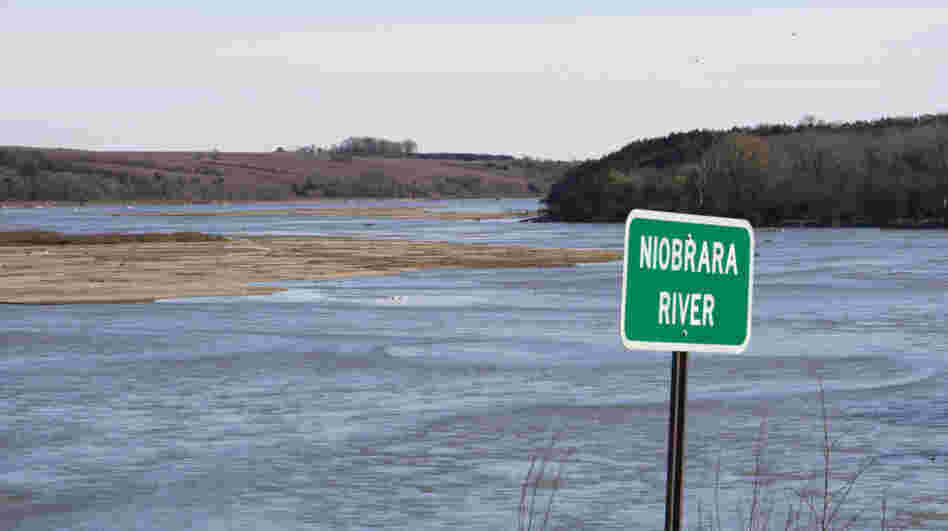 TransCanada hoped to build a pipeline under the Niobrara River in north central Nebraska, seen here in October 2010. The pipeline's route has been challenged by environmental advocates.