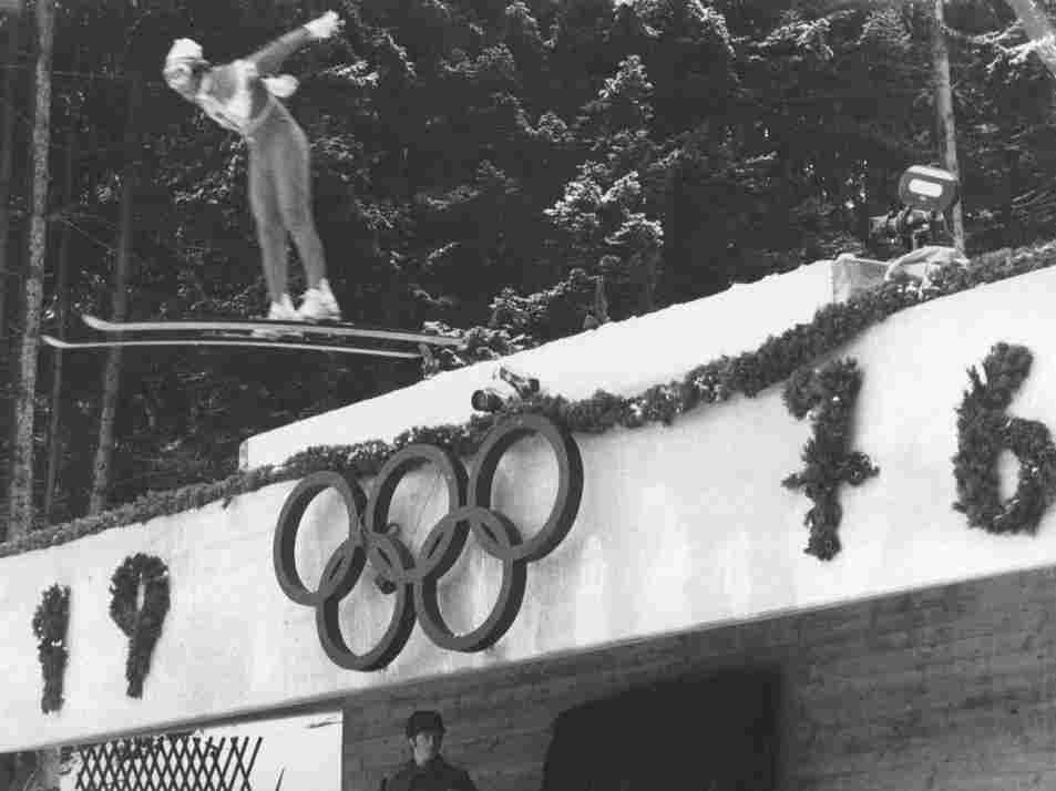 February 1976: The Winter Olympics were moved to Innsbruck, Austria, after Denver decided it couldn't host them.