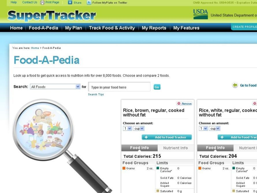 online food online food and exercise tracker