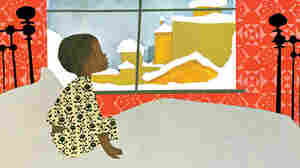 """A page from """"The Snowy Day,"""" by Ezra Jack Keats"""