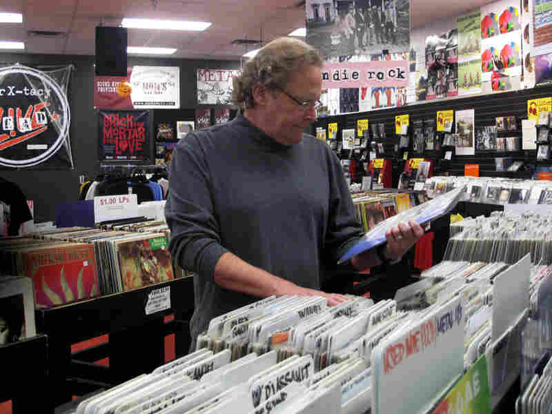 John Timmons, owner of ear X-tacy in Louisville, Ky., closed his record shop after 26 years of business because of the bad economy.