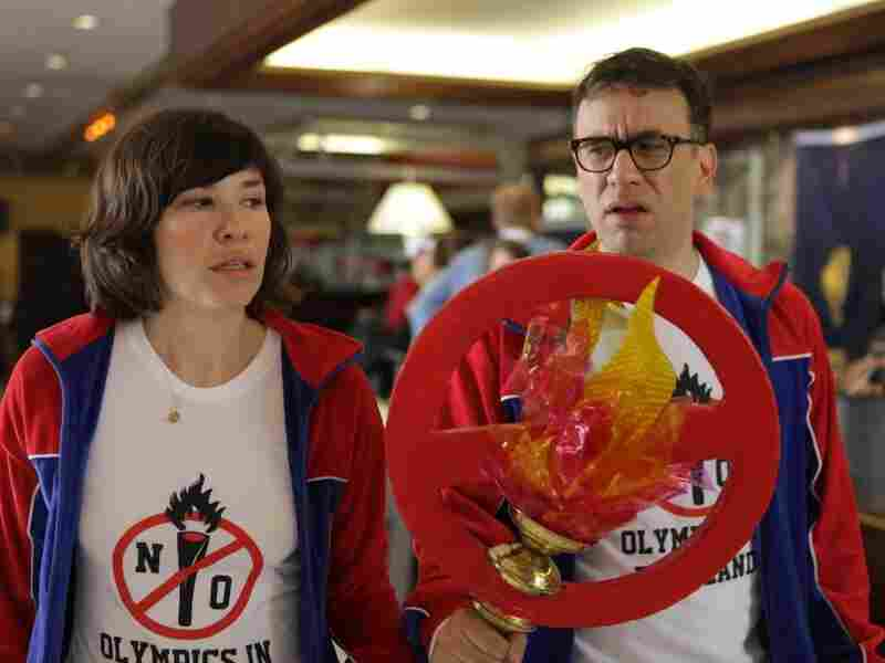 In one episode of Portlandia, Brownstein and Armisen started a grass-roots campaign to prevent the Olympics from ever coming to Portland.
