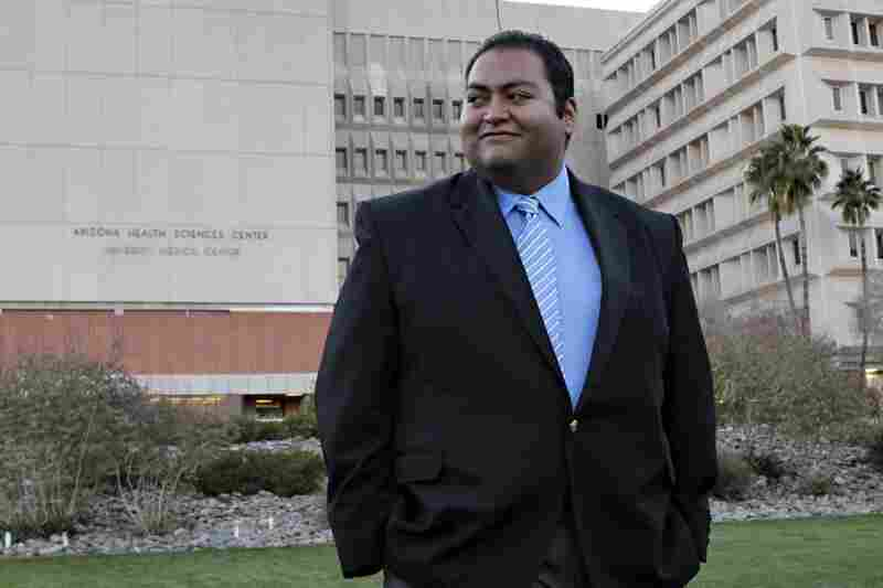 Daniel Hernandez, an intern with Giffords at the time of the shooting, is credited with saving the congresswoman's life.