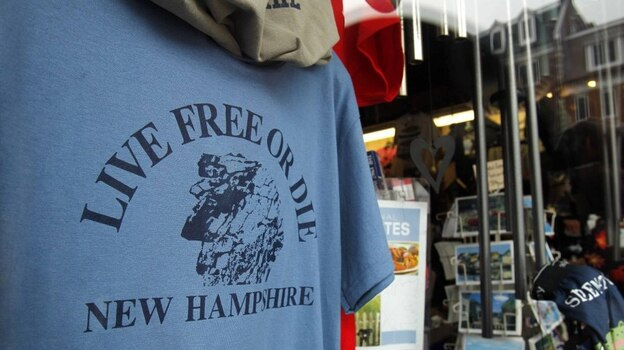 """In New Hampshire, you are expected to think for yourself and live up to the state's motto, """"Live Free or Die.""""  (AP)"""