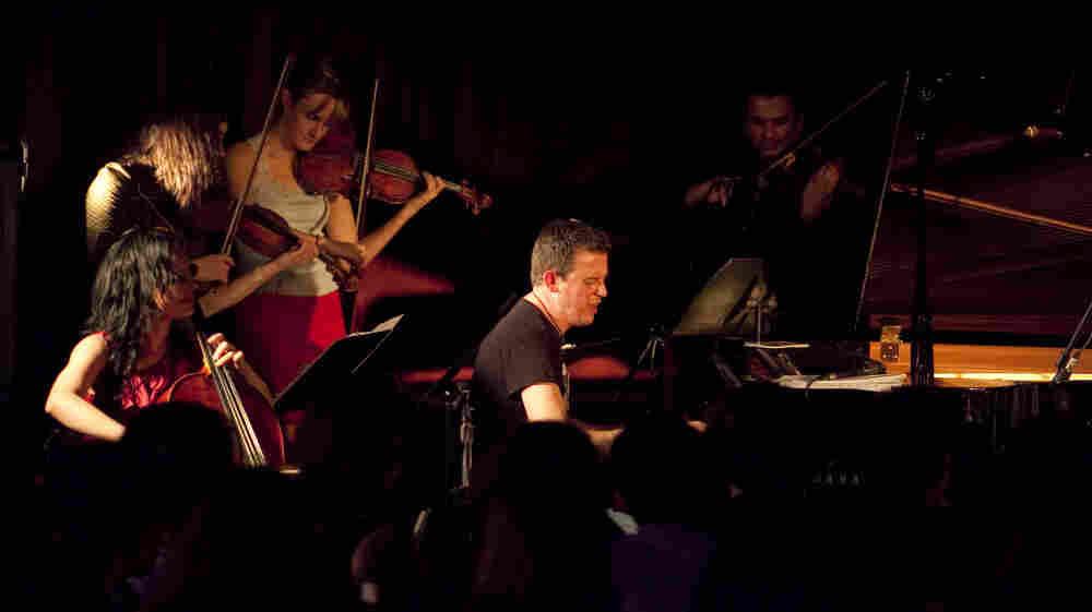 Sketchy Black Dog performs at Zinc Bar at Winter Jazzfest 2012.