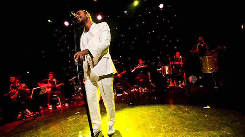 Diogo Nogueira performs during globalFEST at New York City's Webster Hall on Jan. 8.