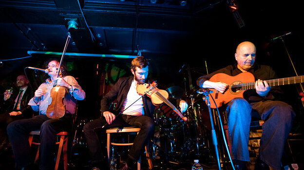 The Gloaming performs during globalFEST at New York City's Webster Hall on Jan. 8.