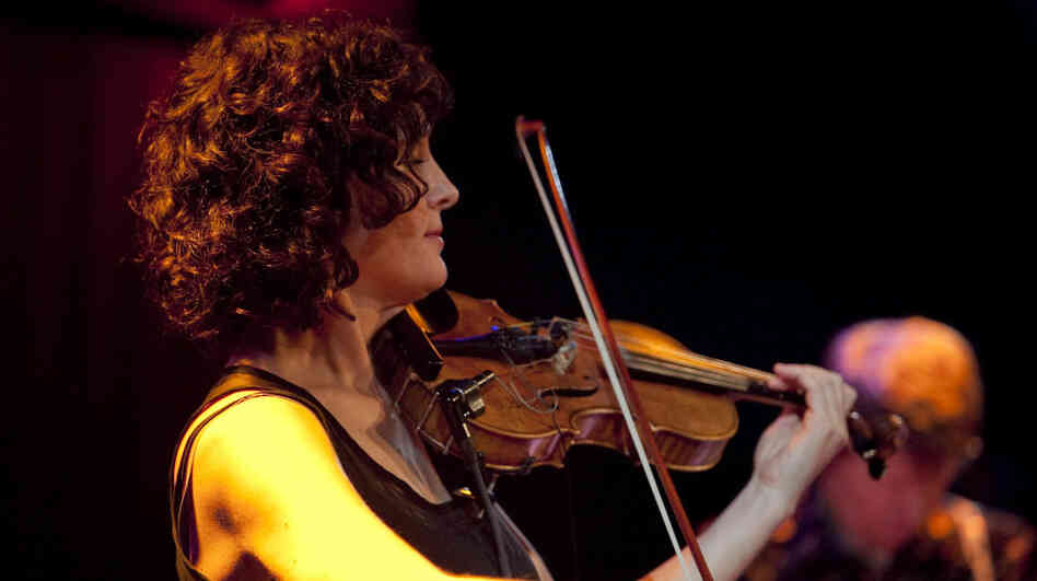 Jenny Scheinman performs with Mischief and Mayhem at Winter Jazzfest 2012.