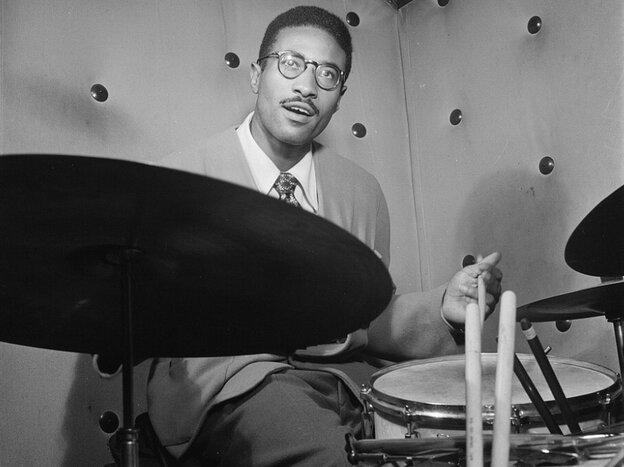 Max Roach in 1947.