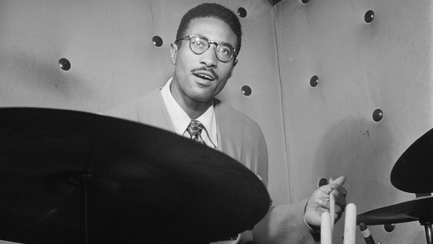 Max Roach in 1947. (Library of Congress via Flickr)