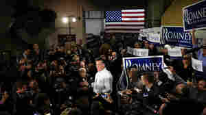 In New Hampshire, Serene Romney Rides Out Final Hours Before Primary