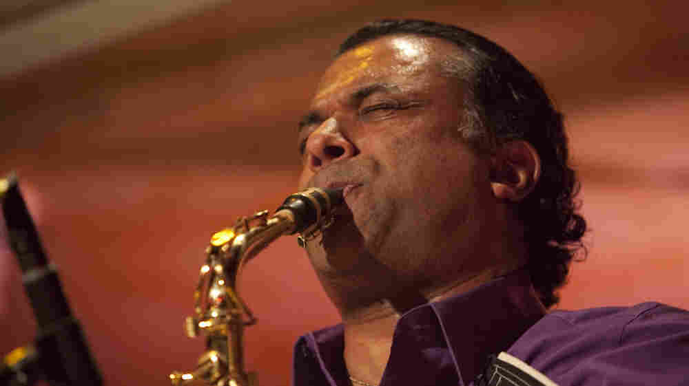 Rudresh Mahanthappa performs at Kenny's Castaways during Winter Jazzfest 2012.