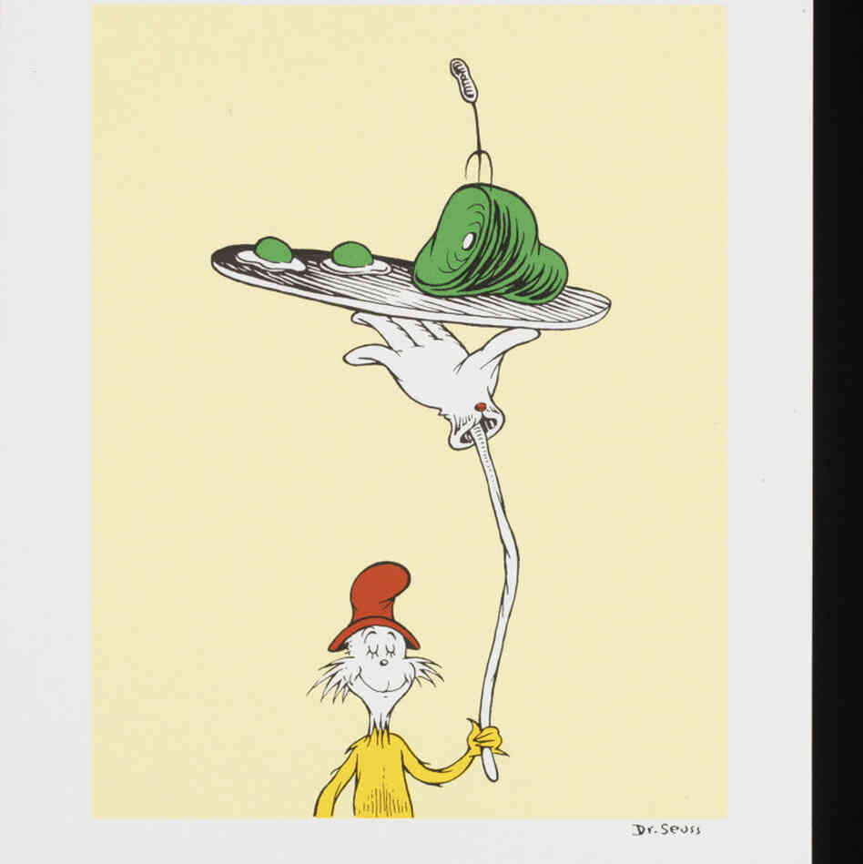 Green Eggs and Ham(TM) & (C) 1960 Dr. Seuss Enterprises, L.P. All Rights Reserved. (PRNewsFoto/Storyopolis Fine Art)