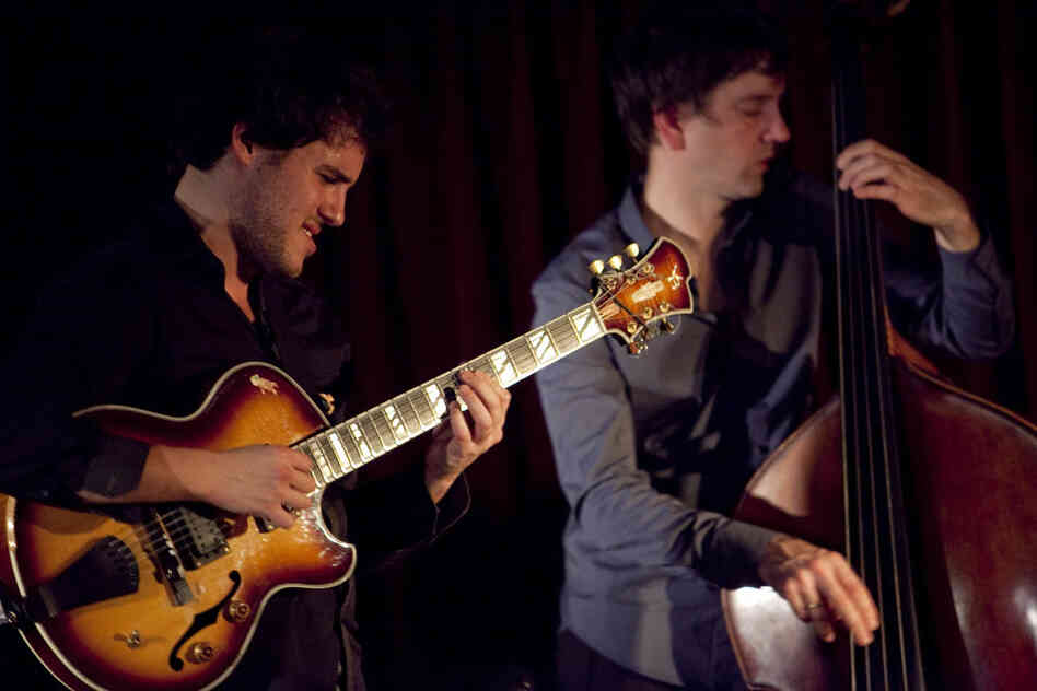 Guitarist Gilad Hekselman's set at Zinc Bar featured Joe Martin on bass.